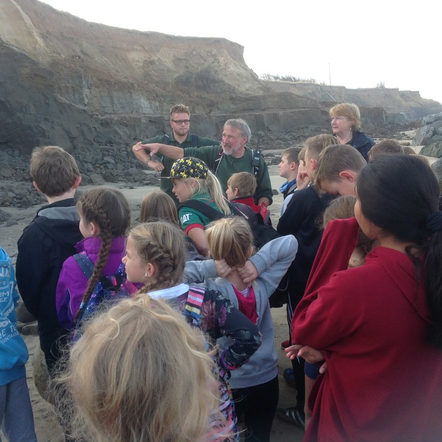 Learning about coastal erosion
