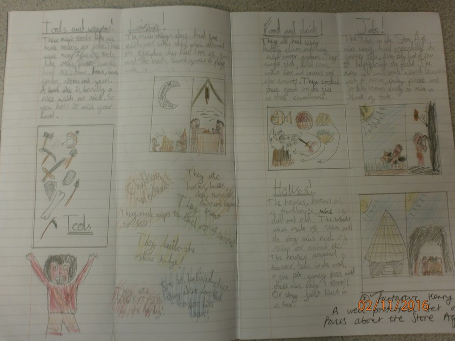 A non-chronological report about The Stone Age