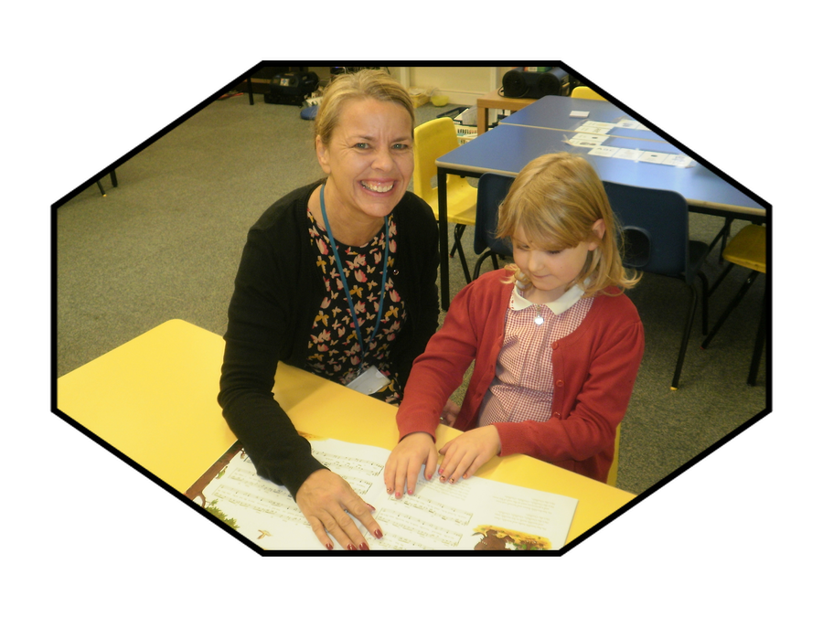 Mrs Kirk, Teaching Assistant in Year 1 and 2