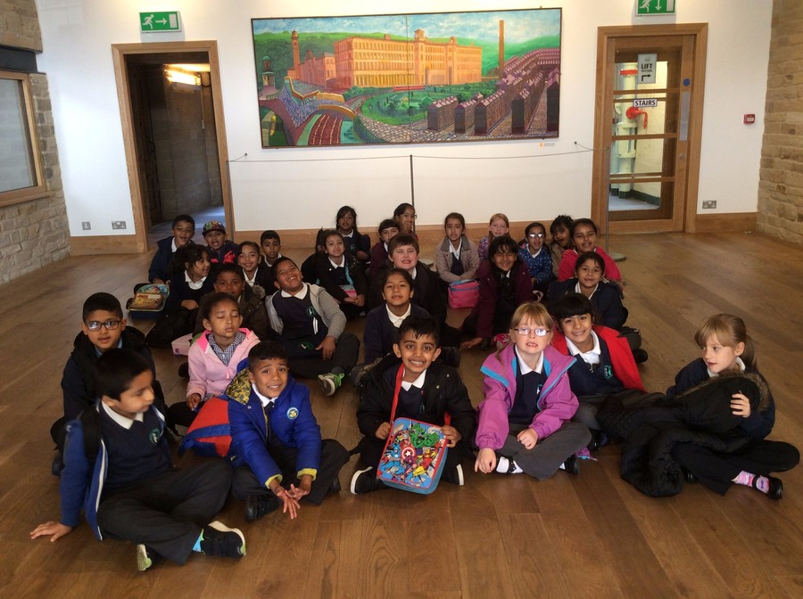 Our visit to see Hockney's paintings at Salt's Mill
