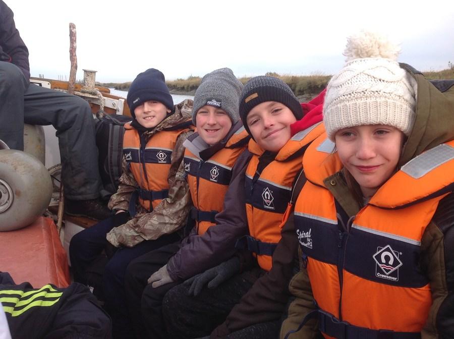 Ferry to Blakeney Point