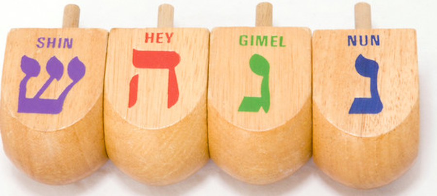 Click on the link to learn how to play with a dreidel