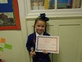 Year 3<p>Lucy - for superb work in maths including full marks on her arithmetic test.</p>