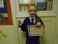 Year 4<p>Mia - for being a role model to others and working hard in all areas of learning.</p>
