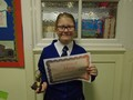 Year 6<p>Angel - for demonstrating the values and spirit of St. Cuthbert's consistently throughout our trip to Lockerbie.</p>