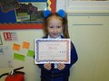 Year 1<p>Hollie - for being a super role model and always striving to be the best she can be.</p>