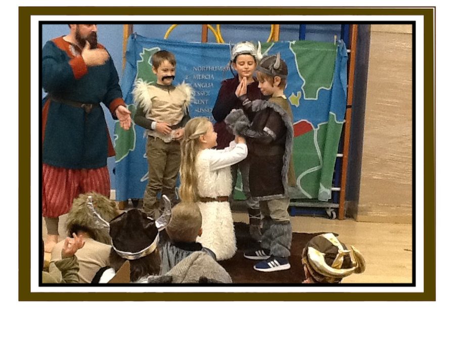 Class 3 - Anglo Saxon Day
