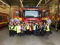 Y2 visit Hanley Firestation