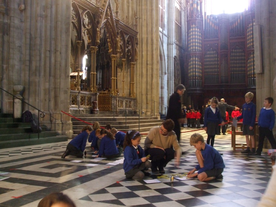 Pilgrimage to Worcester Cathedral
