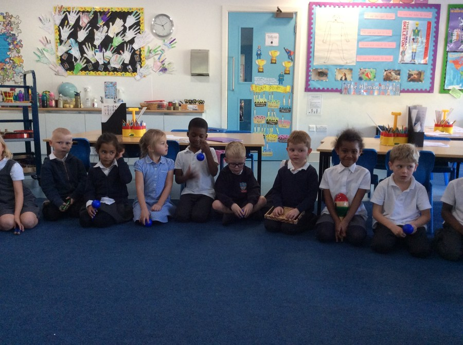 Year 1 Music lesson on pulse - term 1 2016
