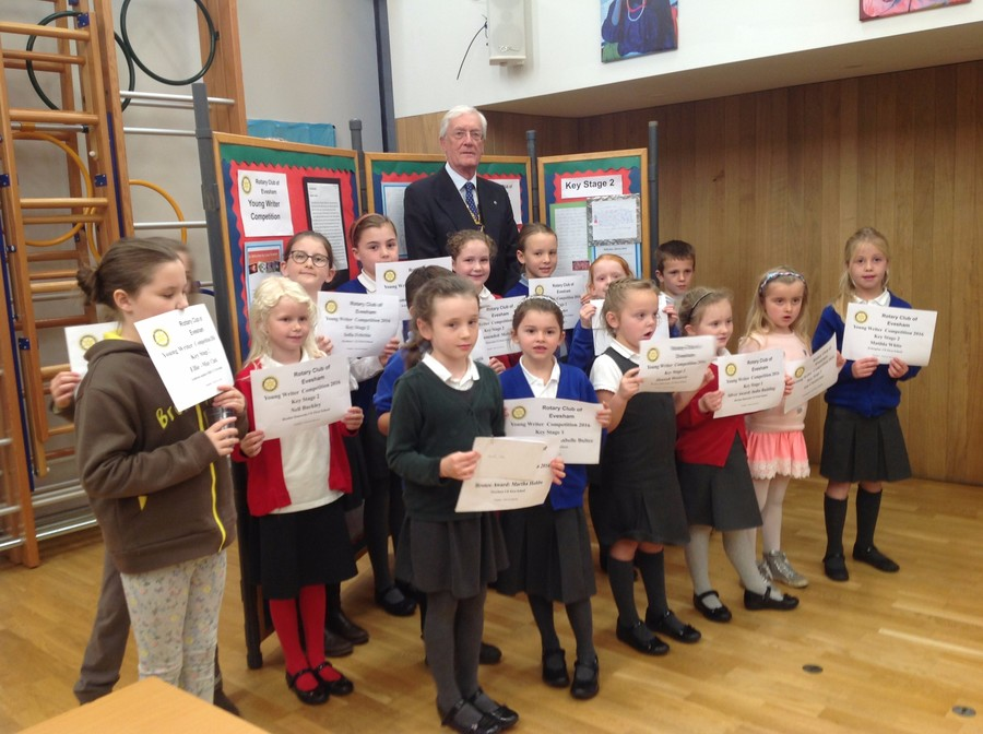 Rotary writing Competition