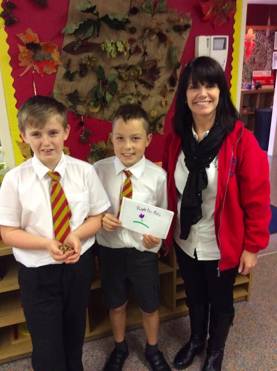 Visiting Mrs Knox and Downshire Nursery raised £130!  A huge thank-you for your support!