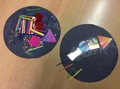 We have done lots of fireworks activities - we made collages, exploring 2D shapes and colour,