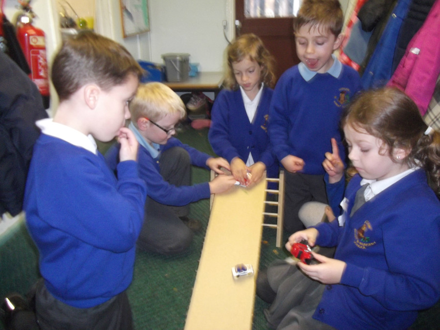 We explored using the highest ramp level and the wooden side of the ramp.