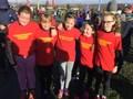 Y5/6 girls - Charlotte , Juliet , Ella Mae , Sophie , Mia