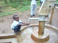 Fresh water from the well.JPG