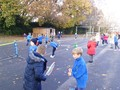 Practising our fundamental movement skills in tennis