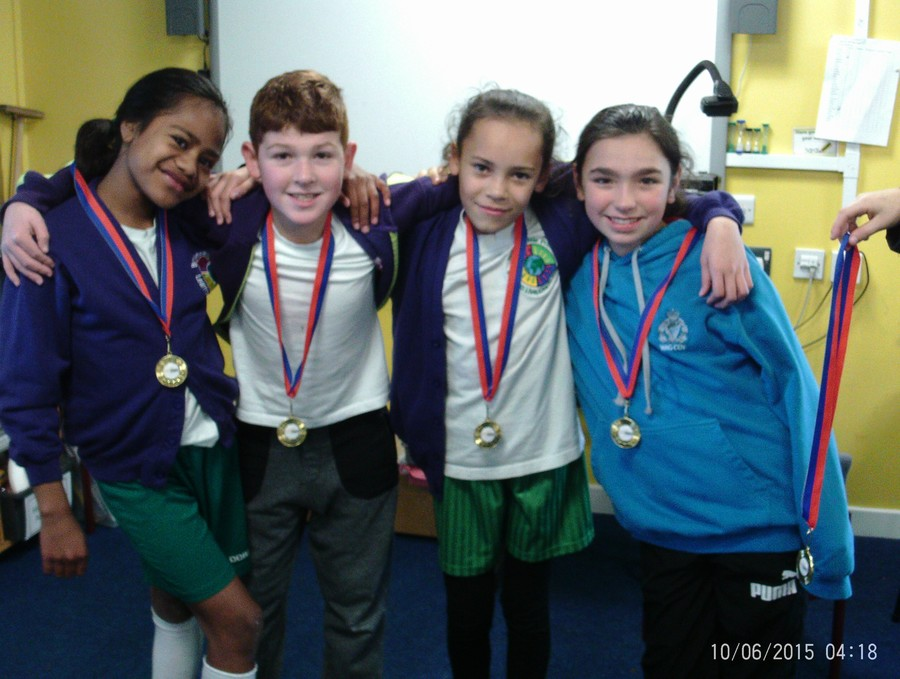 Winners of Level 2 School Games Netball Competition