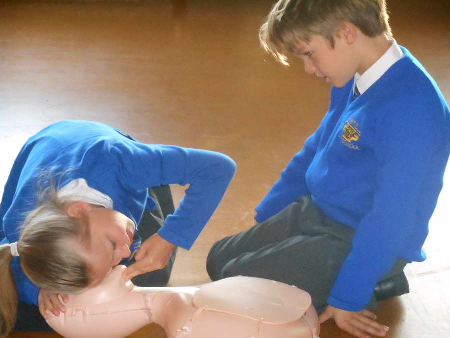 First Aid Training in CPR