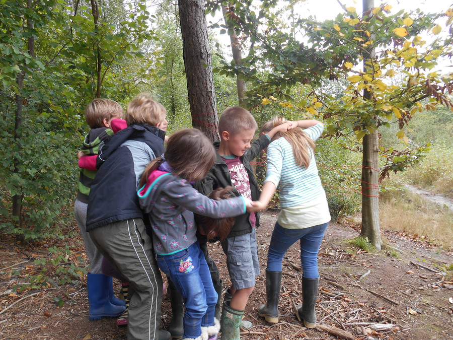 Human Knot - Team building activity