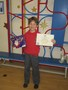 Samson came second out of 1100 entries in the Mayor of Allerdale's competition to design her Christmas card!! Fantastic!