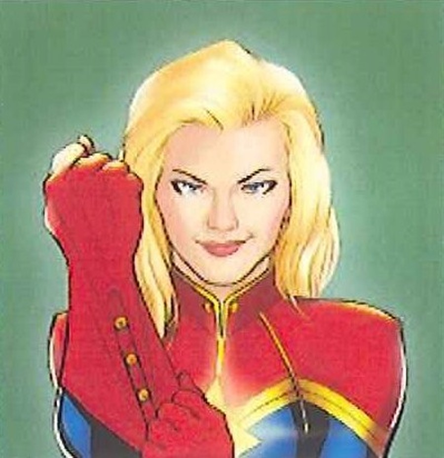 Captain Marvel Target: Counting up and back to 100 in twos.