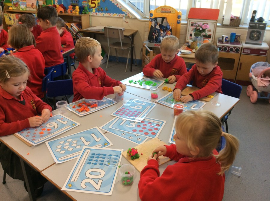 We enjoy playing Maths games together