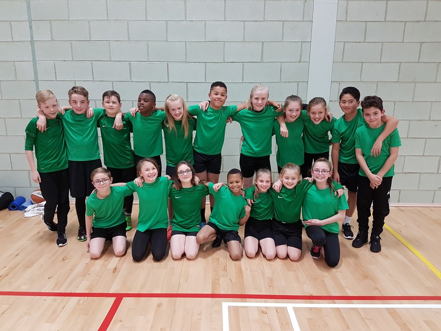 The Athletics Team who came 4th in Walsall