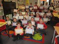 Class 6 received their swimming certificates