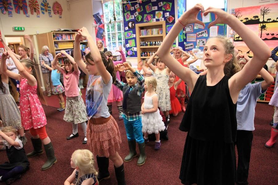 Dance in school