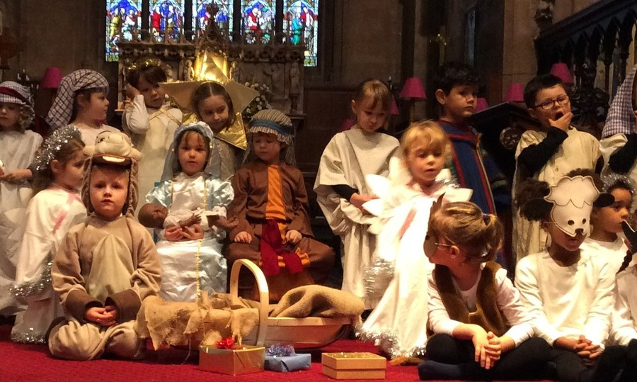 Nativity at Christ Church