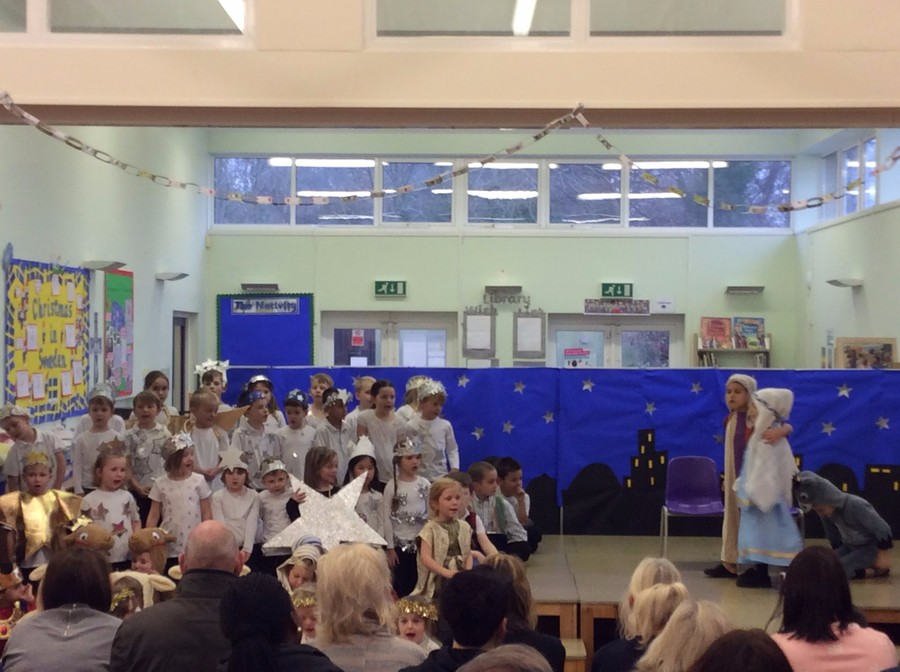 Key stage 1 Christmas Production - 'Christmas Counts'