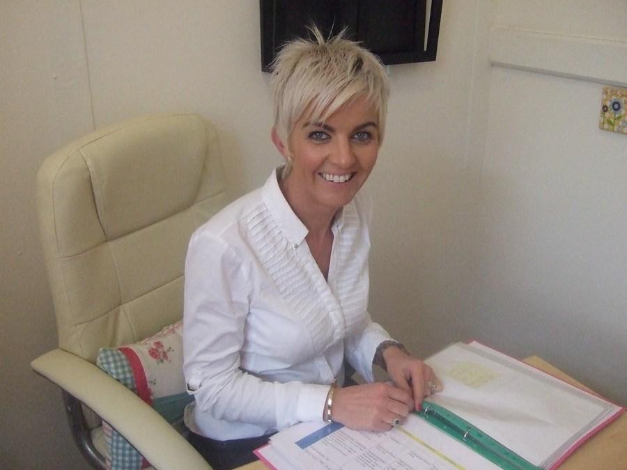 Mrs Philpott, school Principal