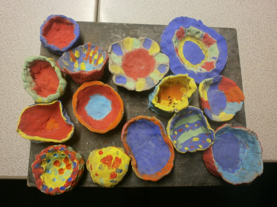 Our Stone Age clay pots