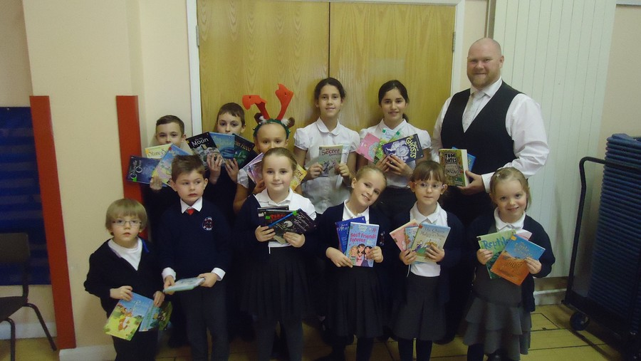 A huge well done everyone on raising over £1300 in our sponsored read! We have bought 247 brand new books! The children below either raised the most sponsor money in their class or read the most minutes. Thank you for your support, the children can't wait to read their new books!