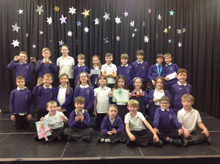 16th December - both Lions and Jaguars got a whole class award.