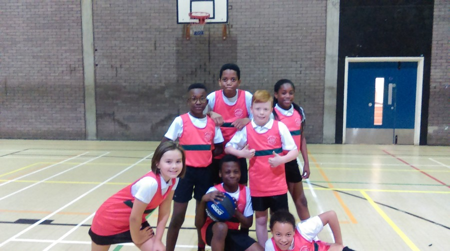 Well done to our Basketball team who won four games out of four at a recent Basketball event.