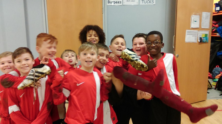 A very creditable draw for our Football team vs Parkfield