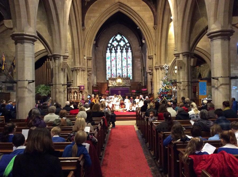 Nativity Service in Christ Church