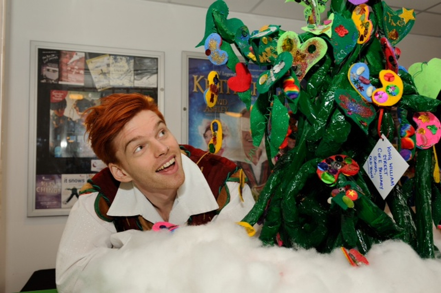 Our beanstalk entry for the Wyvern Theatre panto competition.
