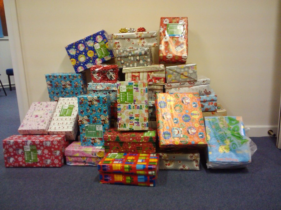 Christmas shoeboxes for Bulgaria
