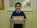 Year 4<p>Stephen - for learning all of his lines and speaking with expression for our nativity.</p>