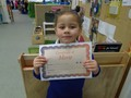 Foundation 2<p>Savannah - for excellent signing during our nativity practice.</p>