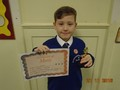 Year 4<p>Kai - for a positive attitude in school especially towards his writing.</p>