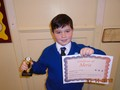 Year 6<p>Kian - for consistently showing a conscientious attitude towards all aspects of his learning.</p>