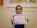 Year 2<p>Ines - for an excellent effort in her maths work</p>
