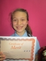 Year 6Fleur - for excellent progress in reading
