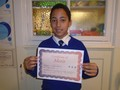 Year 6<p>Kwessi - for starting the new term with increased levels of confidence</p>
