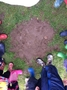 a Dinosaur footprint!
