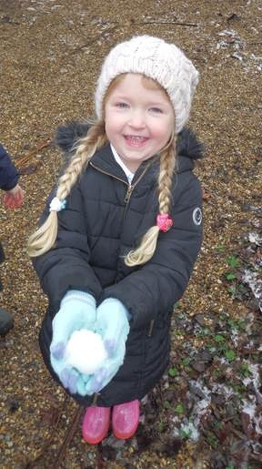 We had fun in the snow. We observed it throughout the day and watched it melt.